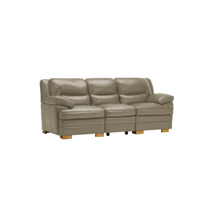 Modena Modular Group 9 in Grey Leather - Image 9