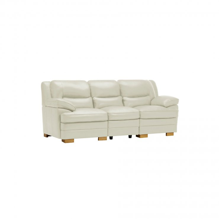 Modena Modular Group 9 in Off White Leather - Image 10