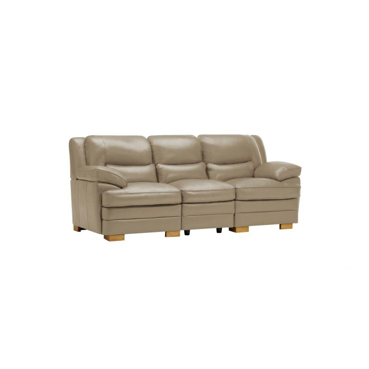 Modena Modular Group 9 in Taupe Leather - Image 9