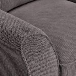 Monaco Armchair in Rich Charcoal Fabric with Charcoal Scatters - Thumbnail 6