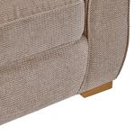 Monaco Armchair in Rich Mink Fabric with Pebble Scatters - Thumbnail 8
