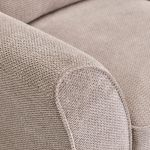 Monaco Armchair in Rich Stone Fabric with Blush Scatters - Thumbnail 8