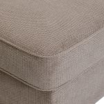 Monaco Left Hand Pillow Back Corner Sofa in Rich Mink Fabric with Pebble Scatters - Thumbnail 3
