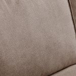 Monaco Right Hand High Back Corner Sofa in Rich Mink Fabric with Pebble Scatters - Thumbnail 2