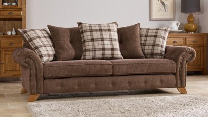 Fabric Sofas Uk Made Quality Sofas Oak Furniture Land