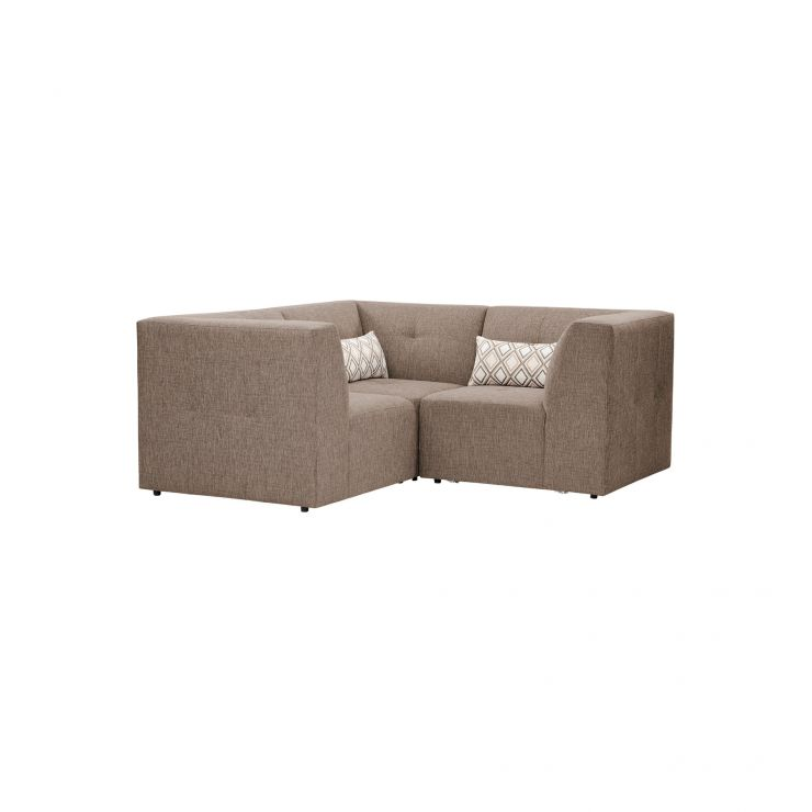 Monterrey Modular Group 1 in Bennett Fabric - Mink - Image 4