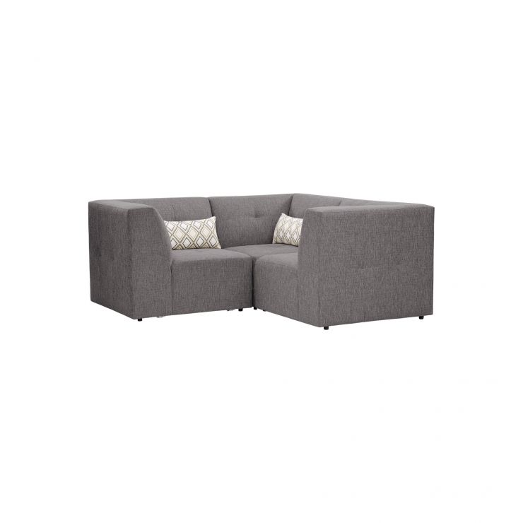 Monterrey Modular Group 1 in Bennett Fabric - Steel