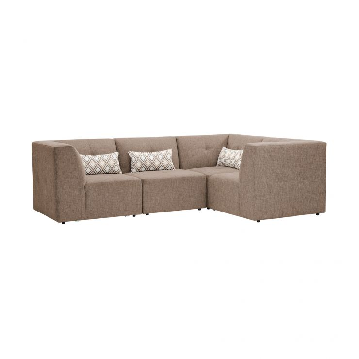 Monterrey Modular Group 2 in Bennett Fabric - Mink - Image 1