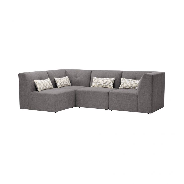 Monterrey Modular Group 5 in Bennett Fabric - Steel - Image 1
