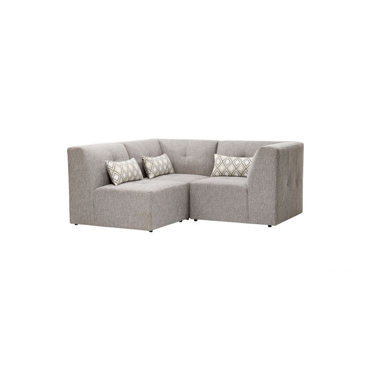 Monterrey Modular Group 7 in Bennett Fabric - Grey
