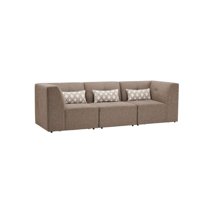 Monterrey Modular Group 9 in Bennett Fabric - Mink - Image 8