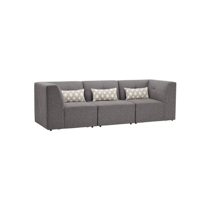 Monterrey Modular Group 9 in Bennett Fabric - Steel
