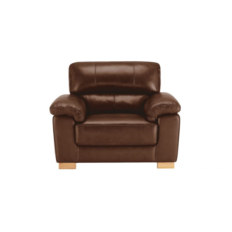 Monza Armchair - Tan Leather