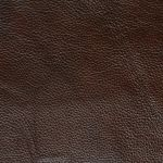 Monza Storage Footstool in 2 Tone Brown Leather - Thumbnail 3