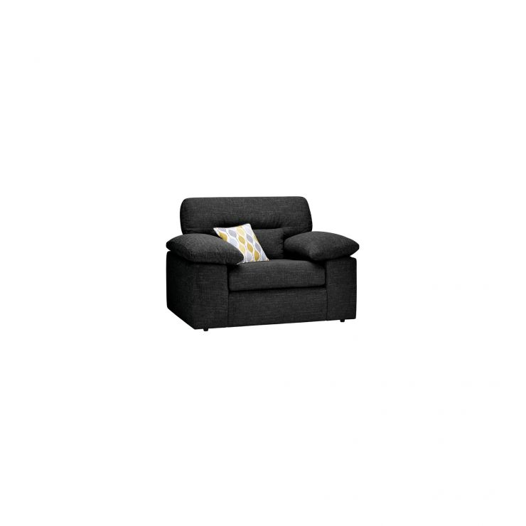 Morgan Armchair in Santos Black