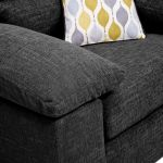 Morgan Armchair in Santos Black - Thumbnail 10