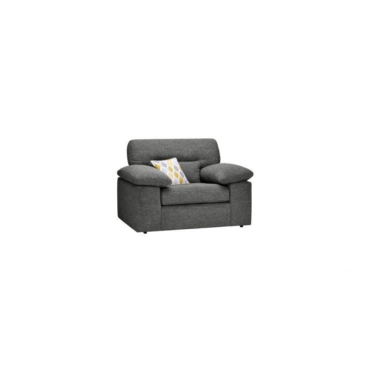 Morgan Armchair in Santos Grey