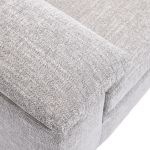 Morgan Armchair in Santos Silver - Thumbnail 6