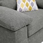 Morgan Armchair in Santos Steel - Thumbnail 10