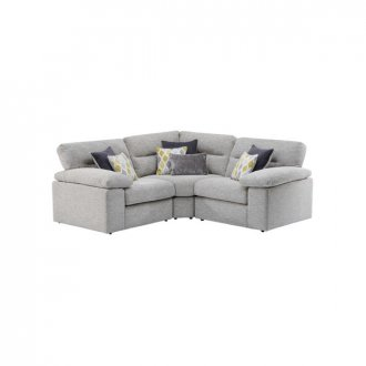 Morgan Modular Group 1 in Santos Silver with Green and Grey Scatters