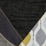 Morgan Modular Group 2 in Santos Black with Green and Grey Scatters - Thumbnail 2