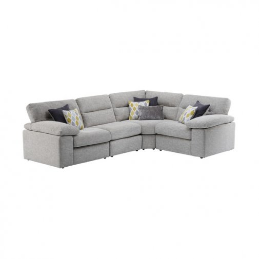 Morgan Modular Group 2 in Santos Silver with Green and Grey Scatters