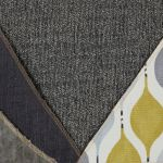 Morgan Modular Group 4 in Santos Grey with Green and Grey Scatters - Thumbnail 2