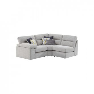 Morgan Modular Group 6 in Santos Silver with Green and Grey Scatters