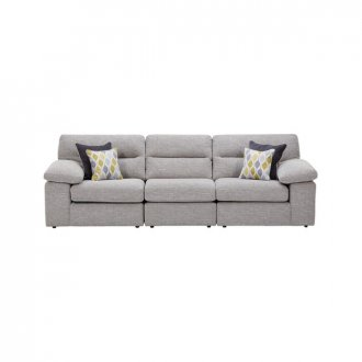Morgan Modular Group 9 in Santos Silver with Green and Grey Scatters
