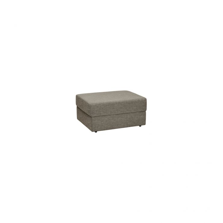Morgan Storage Footstool in Santos Taupe - Image 1