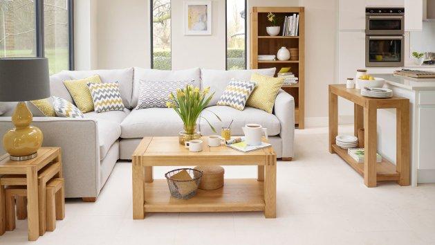Natural Living Room Furniture