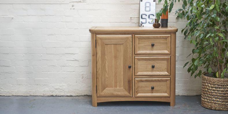 Oak Storage Cabinets