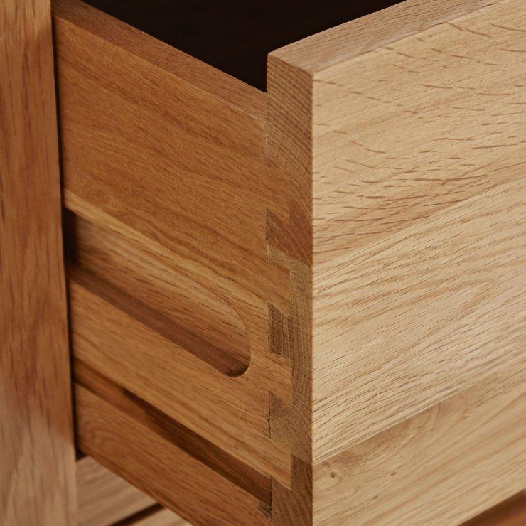 Oakdale Natural Solid Oak 6 Drawer Chest
