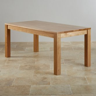 Oakdale Natural Solid Oak 6ft x 3ft Dining Table