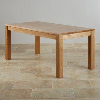 Oakdale Natural Solid Oak 6ft x 3ft Dining Table