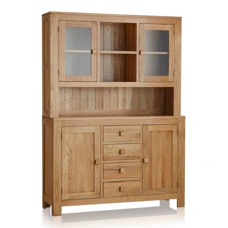 Oakdale Natural Solid Oak Large Dresser