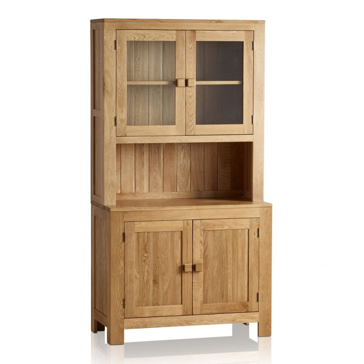 Oakdale Natural Solid Oak Small Dresser - Image 1