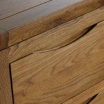 Orrick Rustic Solid Oak Large Dresser - Thumbnail 3