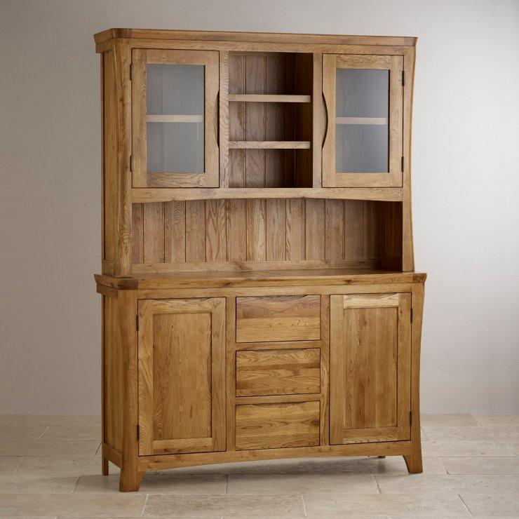 Orrick Rustic Solid Oak Large Dresser - Image 4