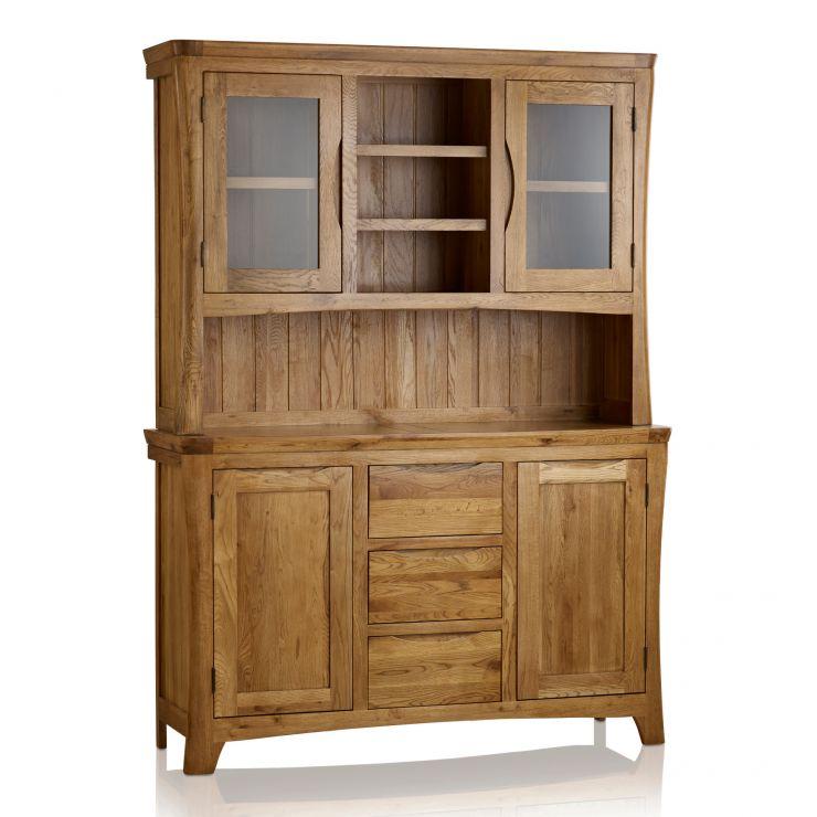Orrick Rustic Solid Oak Large Dresser