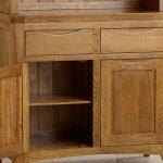 Orrick Rustic Solid Oak Small Dresser - Thumbnail 3