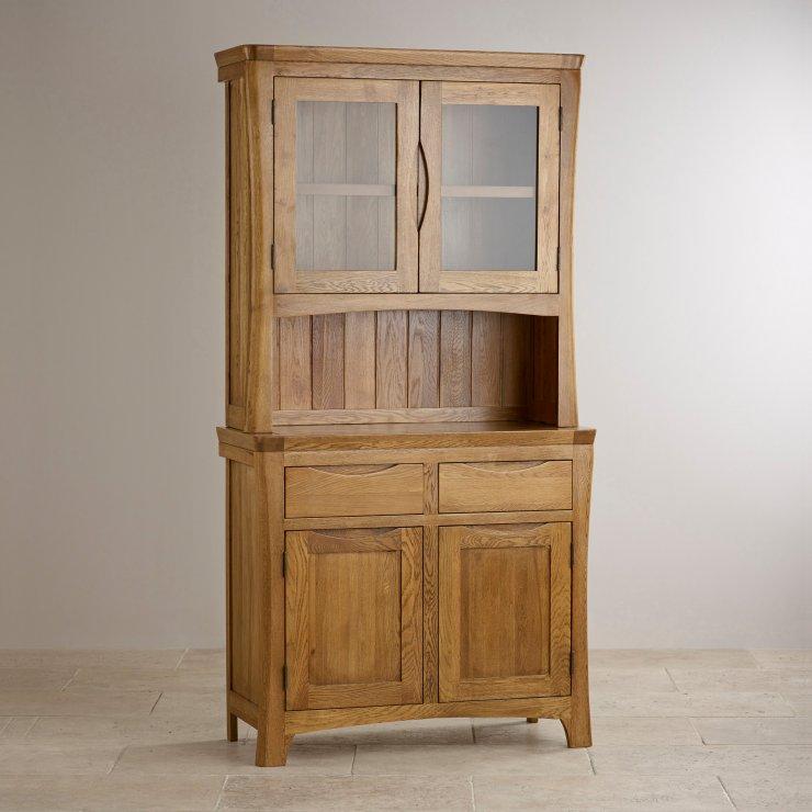 Orrick Rustic Solid Oak Small Dresser