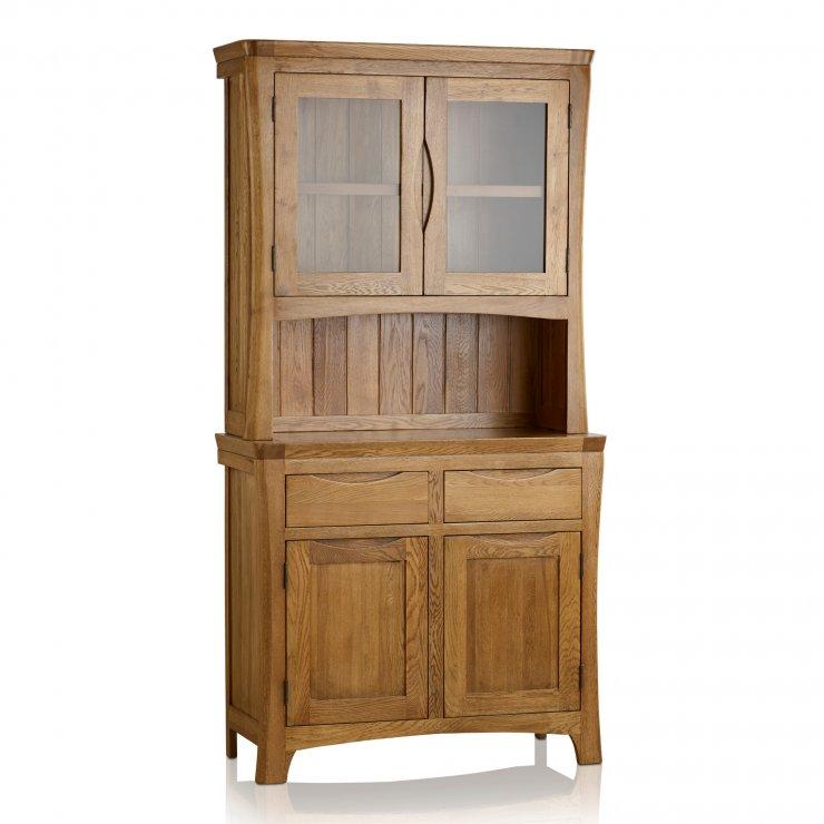 Orrick Rustic Solid Oak Small Dresser - Image 4