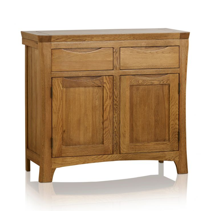Orrick Rustic Solid Oak Small Sideboard - Image 5