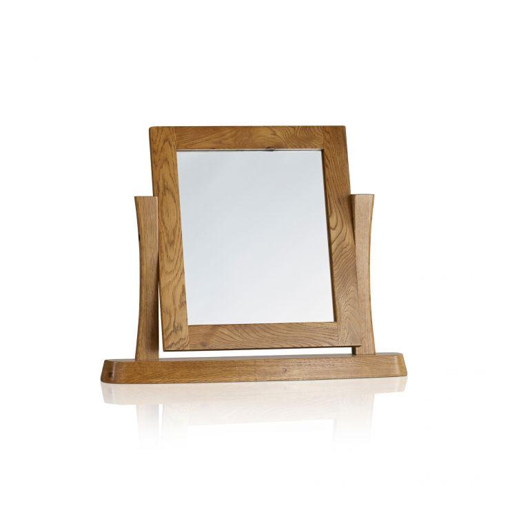Orrick Rustic Solid Oak Dressing Table Mirror