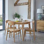 Oscar Natural Solid Oak Dining Chair - Thumbnail 3