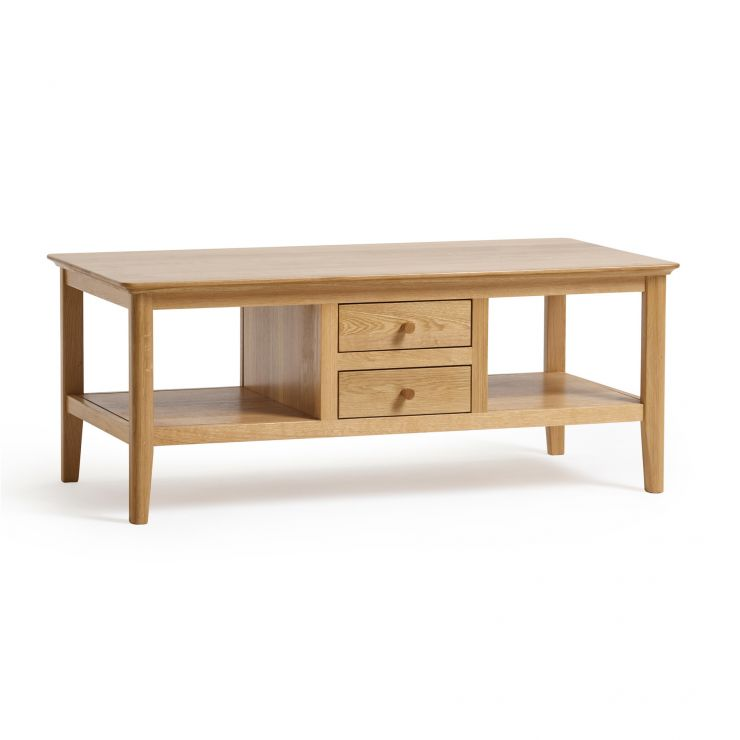 Oslo Natural Solid Oak Coffee Table