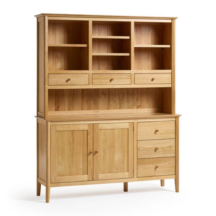 Oslo Natural Solid Oak Large Dresser