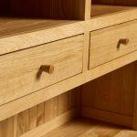 Oslo Natural Solid Oak Large Dresser - Thumbnail 5