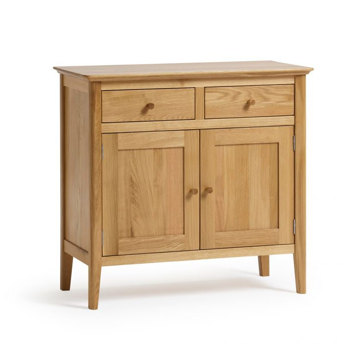 Oslo Natural Solid Oak Small Sideboard